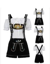 M-XL Dames Lederhosen Oktoberfest Kostuum Duitse Beierse Beer Maid Wench Outfit(China)