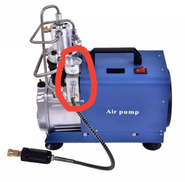 Yongheng Air Compressor Spare Part(like The Red Part)