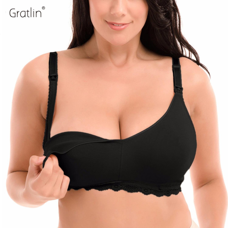 महिलाओं की मातृत्व वायरलेस पूर्ण कवरेज स्तनपान नर्सिंग ब्रा 34-40 बी-डीडी