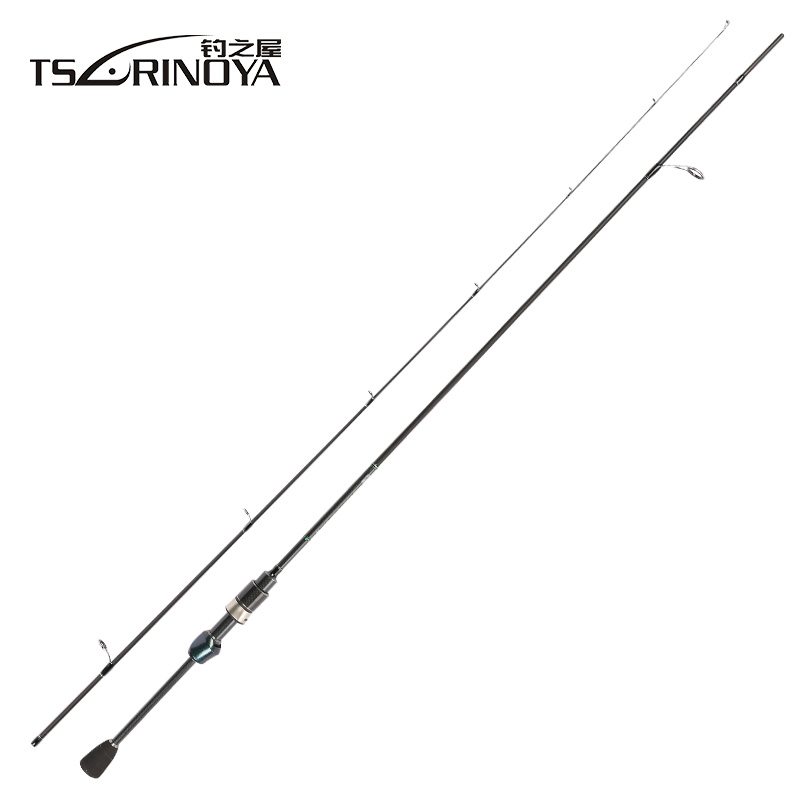 TSURINOYA Dexterity 1.89m UL Spinning Fishing Rod FUJI O Guide Ring Toray 30T Carbon Fiber Bass Lure Rod Pesca Stick Cane