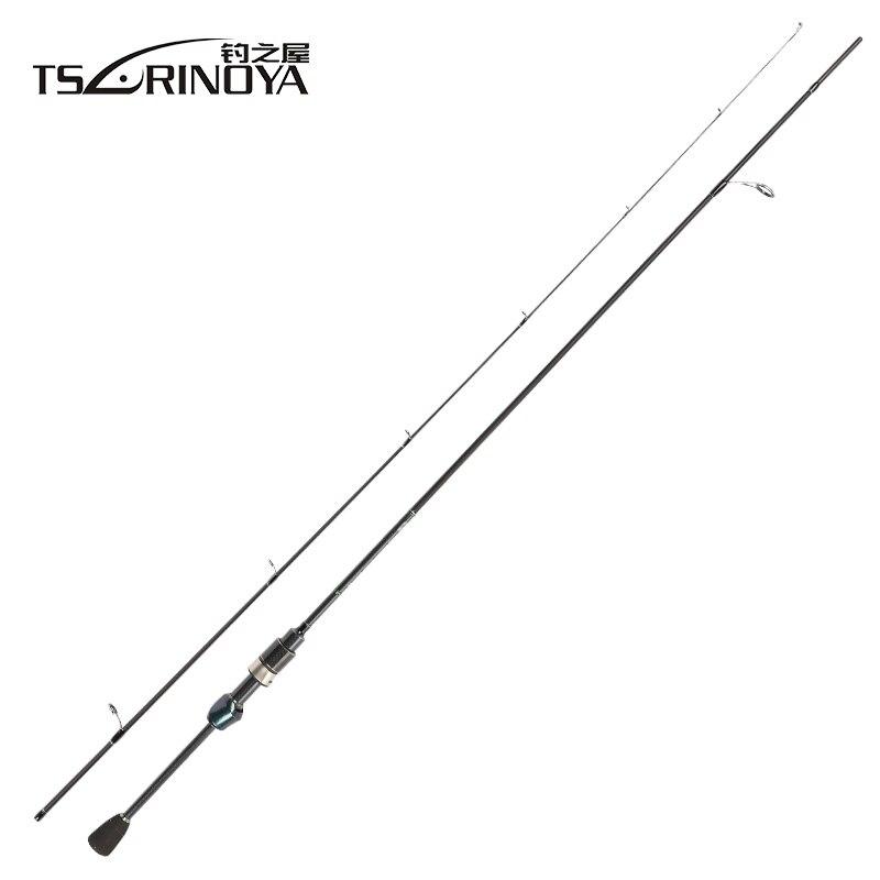 TSURINOYA Geschicklichkeit 1,89 mt UL Spinning Angelrute FUJI O Guide Ring Toray 30 T Kohlefaser Bass Lure Rod Pesca Stick Cane