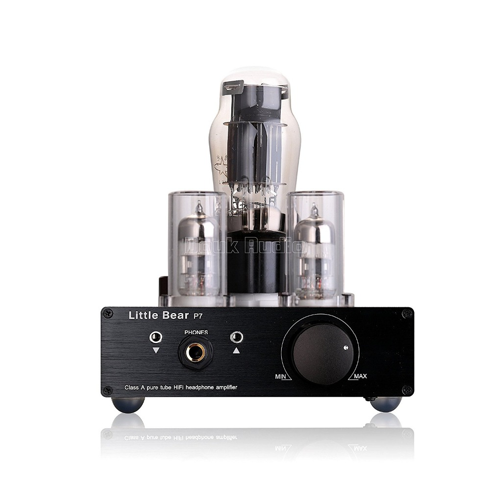 SRPP circuit 2018 6N5P 6N3 50W 30~500 Ohm Headphone Amplifier Pre tube amp tube amplifier P7 Class A HIFI Tube AMP Amplifier стоимость
