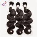 Pelo virginal europeo sin procesar extensiones de cabello 4 bundles / lot onda del cuerpo irina Hair products 8-32 armadura del pelo ondulado suave enredados pelo