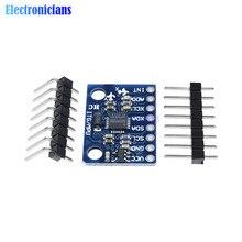 5 pièces/lots Standard I2C GY 521 MPU 6050 MPU6050 Module 3 axes capteurs gyroscopiques analogiques + Module accéléromètre 3 axes pour Arduino
