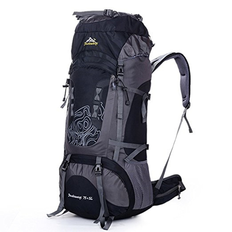 Multi-purpose 80L Large Capacity Outdoor Backpack Unisex Travel Climbing Backpacks Hiking Rucksacks Camping Climbing Sports Bag цена