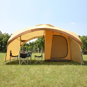 Summer Outdoor Super Large Camping Tent Ultra Anti UV Gazebo Canopy Awning Advertising