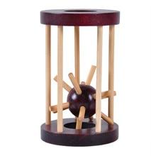 Взгляд шип из клетки головоломка для развития интеллекта материнскую плату деревянная головоломка для детей игрушка детский подарок развивающие игрушки ручной мальчик девочка M1219