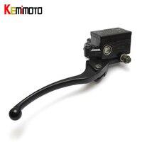 KEMiMOTO ATV Brake Master Cylinder Brake Clutch Lever For Honda 200 250 350 400 450 TRX
