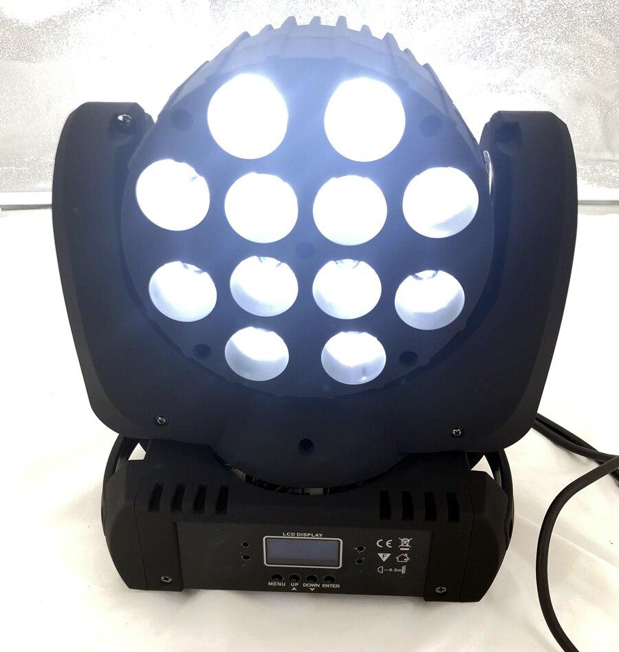 LED 12x12 W lavage LED orientable étape lumière rgbw RGBW 4in1 Quad lampe à LED avancé 9/16 DJ DMX canaux pour scène professionnelle - 6