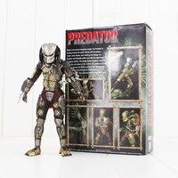 20cm NECA Alien VS. Predaor Jungle Hunter Figure Toy Predator With Skull Weapon Collectible Model Doll