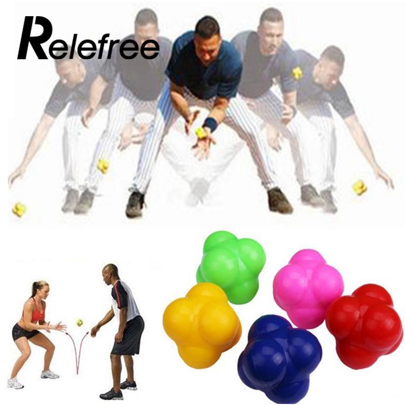 high challenge reaction ball sensitive ball tennis ball badminton reaction speed agility training ball Workout equipment