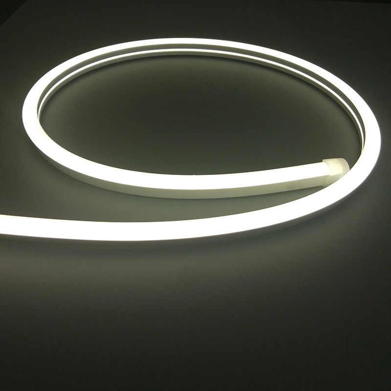 Wodoodporne 2835/5050/5050RGB/5050 RGBW światła neonowe LED 12V24V 60 diod led/m120LEDs/m paski Neon RGB /RGBW/biały/czerwony/zielony/niebieski/żółty