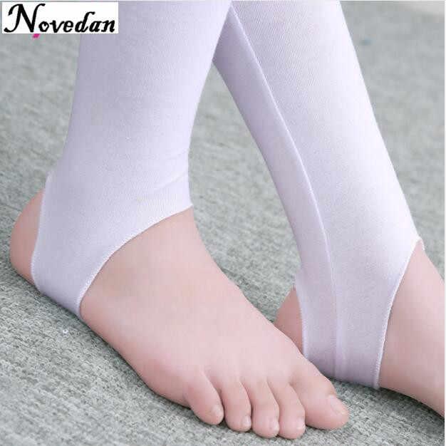 e62b91a20af0d ... Child Kids Girls Stirrup Ballet Dance Tights Socks Gymnastics Practice  Pantyhose Fitness Pants Dance Clothes Legging