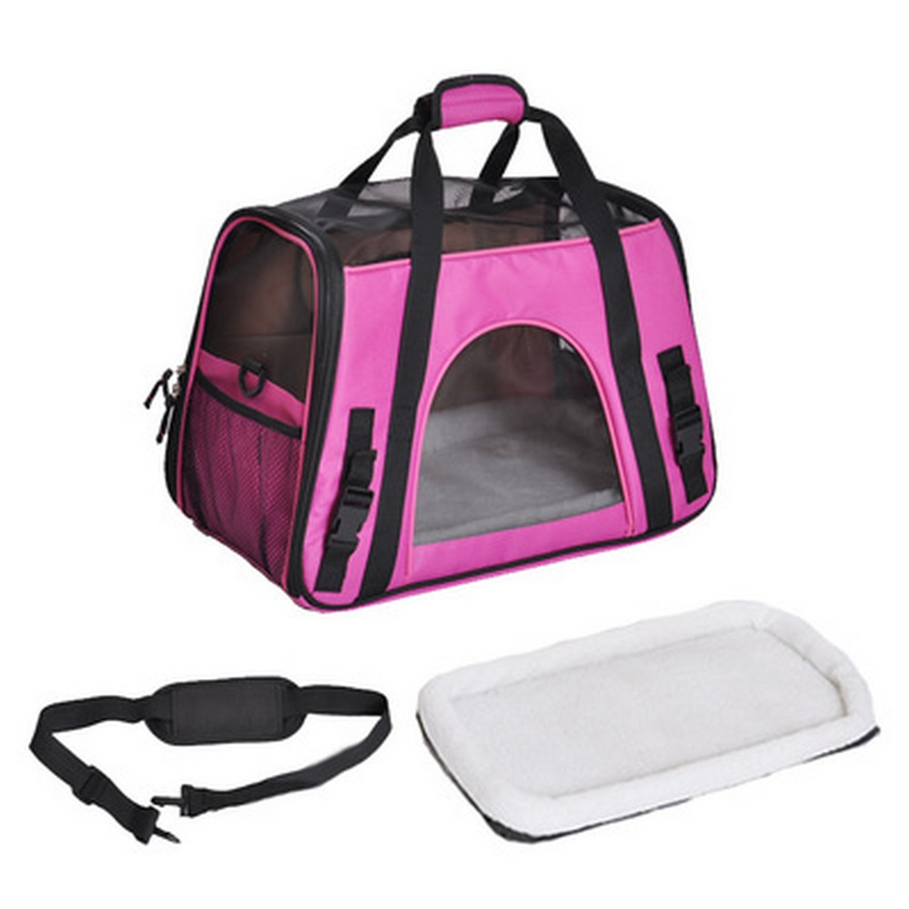 Pet Carrier Dog Bag Pet Airline Approved Carrier for Puppy Cat Small Animal Transport Bag Carriers BJD