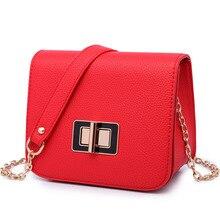 Neue Designer Frauen Tasche Heißer Verkauf 2016 Mode Persönlichkeit Kette Messenger Bags Top-qualität Weibliche Crossbody Umhängetaschen Rot