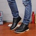 Invierno Hombre botas Al Aire Libre de Envío Libre de LA PU De Goma Botas de Los Hombres con cordones zapatos botas hombre Botas de Los Hombres Más Tamaño zapatos de invierno hombres XM-08