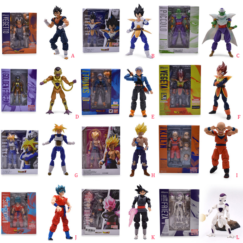 US $15.88 22% OFF|12 styles Anime Dragon Ball SHF Frieza Vegeta Piccolo Jr Goku Zamasu Trunks PVC Action Figure Doll Model Toy Christmas Gift|Action & Toy Figures| |  - AliExpress