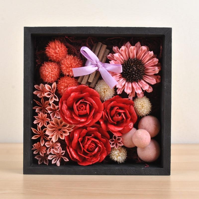 Росе поклон кутија украс мешавина - Свечани и забавни прибор