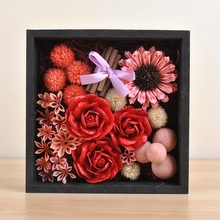 Rose gift box decoration mixed multiple natural dried flowers DIY handmade birthday gifts wedding decoration Art table Flower