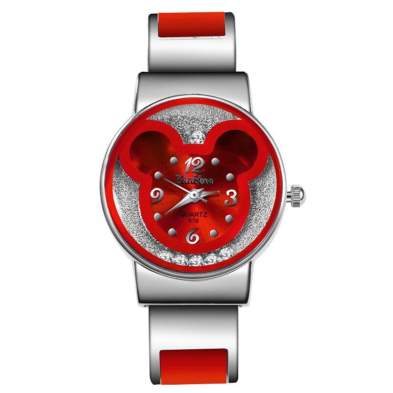 Reloj mujer Moda Mulheres Relógios Xinhua Ladies Luxury Dress Watch Pulseira de Aço Inoxidável Relógio de Pulso Relógio relogio feminino