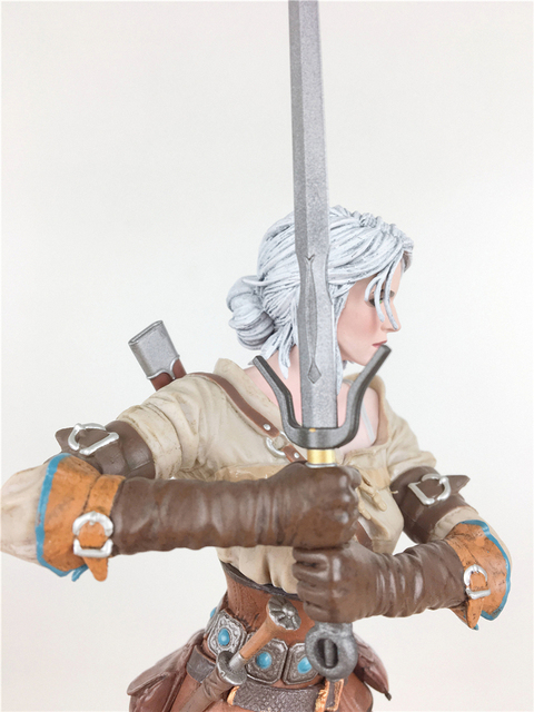The Witcher 3 - Wild Hunt: Ciri Figure Dark Horse The Witcher PVC Game Figure Collection Model Toy 4