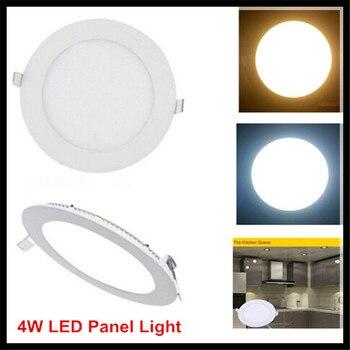 10PCS 4W LED Panel Light 4W AC85~265V LED Round Ceiling Lights Square Panel Lights SMD2835 for Home Lighting Bathroom Kitchen
