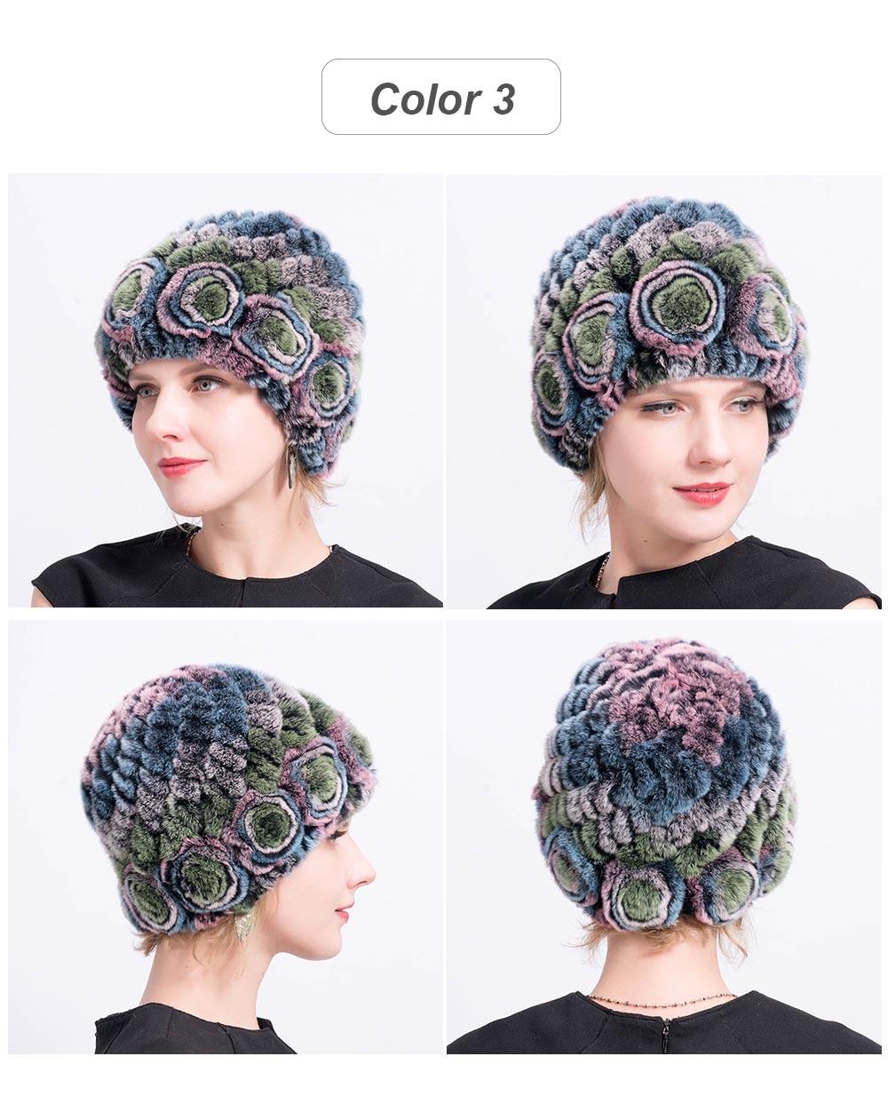 Women hat fur cap 03