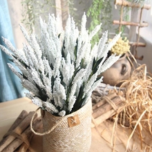 купить 1 pc Beautiful European Lavender Artificial European Lavender PE Fake European Lavender Artificial Flowers European Lavender онлайн