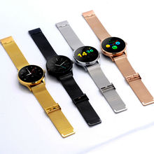 2016 k88h mode smart watch kreis touchscreen für android und ios armbanduhr smartwatches schrittzähler uhr band auf lager