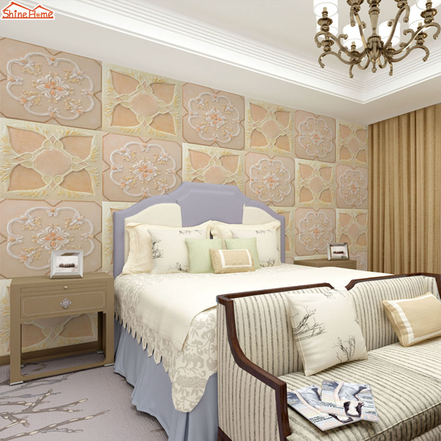 ShineHome-3d Wall Paper Soft Roll Diamond Plaid 3d Photo Wallpaper Mural Rolls for Room Papel De Parede Para Quarto Papier Peint shinehome modern waterfall natural wallpaper roll 3d wallpapers for wall 3 d walls paper rolls papier peint papel de parede 3d
