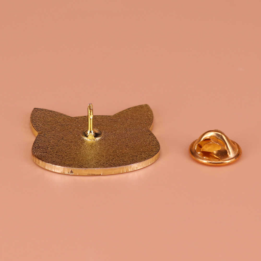 Black cat Luna spilla cute glitter perni magico celeste distintivo Sailor Moon ispirato spilli anime Artemis donne regalo dei monili acces