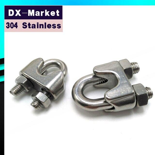 24mm, 304 Edelstahl Ringging Hardware Drahtseilklemmen ...
