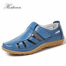 Hosteven النساء أحذية عارضة أحذية رياضية الشقق المتسكعون أحذية أنيقة المشي الربيع الصيف تنفس الهواء شبكة أحذية مشي