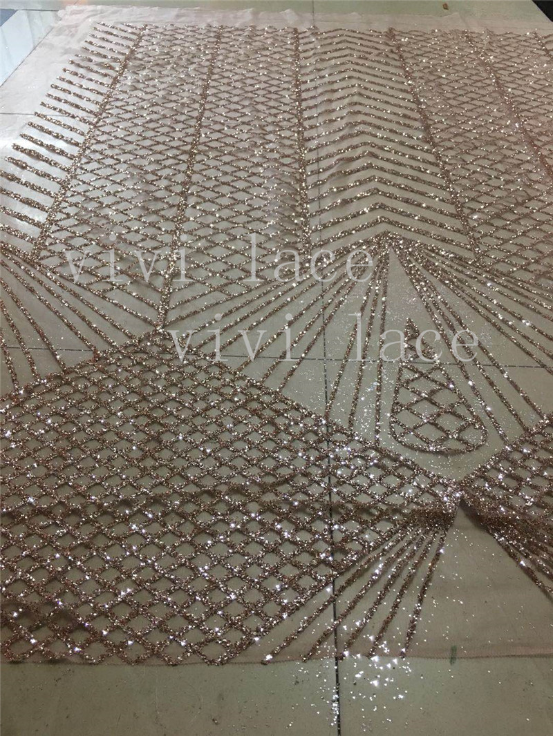 fast ship stock new 5yards bag le001 2  hand print nude pink sparkle glitter  tulle mesh lace fabric for wedding  evening dres-in Fabric from Home    Garden ... 7996db05ee62