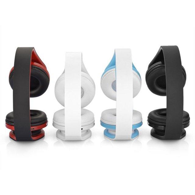 Auriculares bluetooth inalámbrico de auriculares auriculares estéreo plegable auricular manos libres con micrófono para iphone galaxy para htc