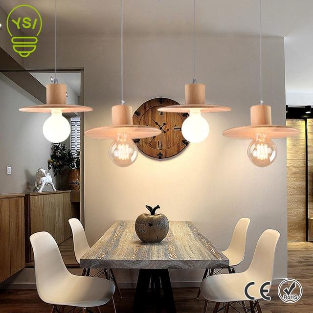 Hanglampen Eetkamer Modern Hout Hanger Lampen Magazijn Bar Zolder ...