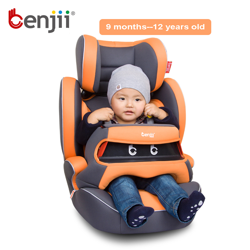 high quality and convenient forward facing sitting baby car seats with 5 points harness isofix child