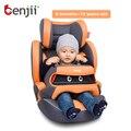 De alta Calidad y Conveniente Avanzar Hacia Sentado Asientos de Coche de Bebé con 5 Puntos de Arnés Silla de Niño Asiento de Seguridad Infantil Isofix para Auto
