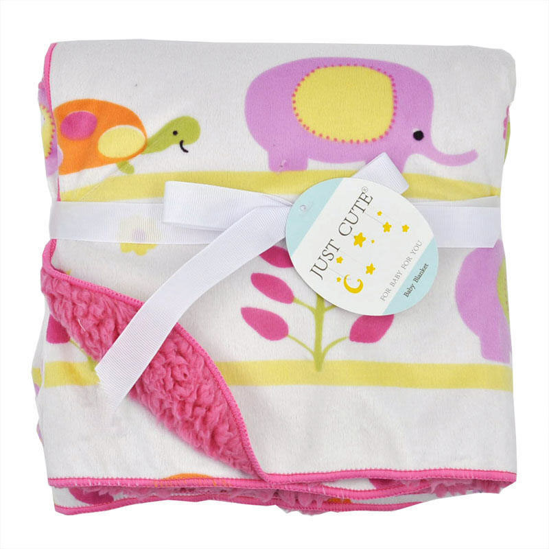 Cute Cartoon Newborn Baby Blanket Coral Fleece Baby Swaddle Super Soft Baby Wrap for Infant Baby Bedding Blanket Size 102cm76cm (3)