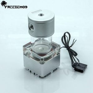 Image 3 - FREEZEMOD 140mm pump & reservoir kit Aluminum cover RGB control or AURA synchronization,PUB FS6MA 14