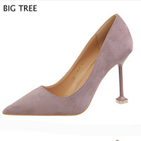 Free Shipping Women Shoes High Heel Shoes Patent Leather OL Wind Women Pumps Thin Heels Zapatos