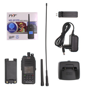 Image 5 - TYT MD UV390 DMR Radio Station 5W 136 174MHz & 400 480MHz Walkie Talkie MD 390 IP67 Waterproof Dual Time Dlot Digital Radio