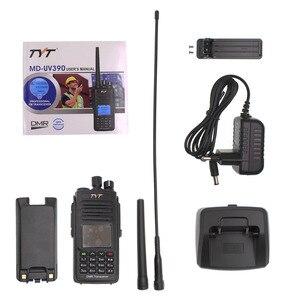 Image 5 - Tyt MD UV390 dmrラジオステーション 5 ワット 136 174 & 400 480 470mhzのトランシーバーMD 390 IP67 防水デュアルタイムdlotデジタルラジオ