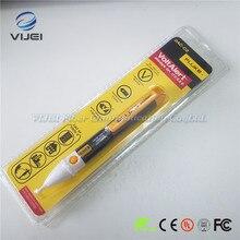 פלוק 2AC C2 השני וולט התראה פלוק 2AC חיישן ללא מגע מתח גלאי AC tester מקל חשמל גלאי עט