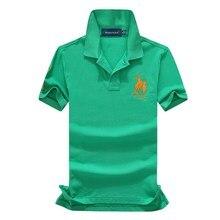 abundance flloh Brand Clothing New Men Polo Shirt Business Casual Solid Male Short Sleeve Breathable