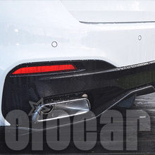 MP Style Carbon Rear Diffuser 2PCS for BMW 5er G30 G31(China)