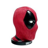 Hot Deadpool Anti hero Swear Jar Comic Film Marvel Super Hero Head Piggy Bank Money Box Figure Statue Toys
