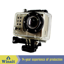 2017 New style waterproof action camera Built-in LED light Full HD 1080P 170degree wide angle lens Sport DV digital camcorder