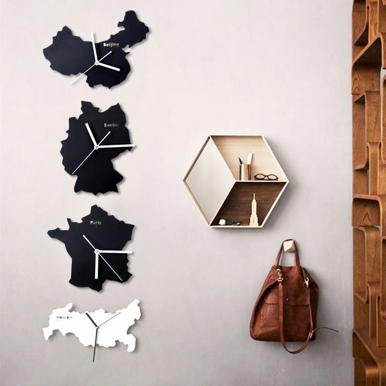 World clock wall decor migrant resource network creative quartz clock world map wall for home decor living gumiabroncs Images