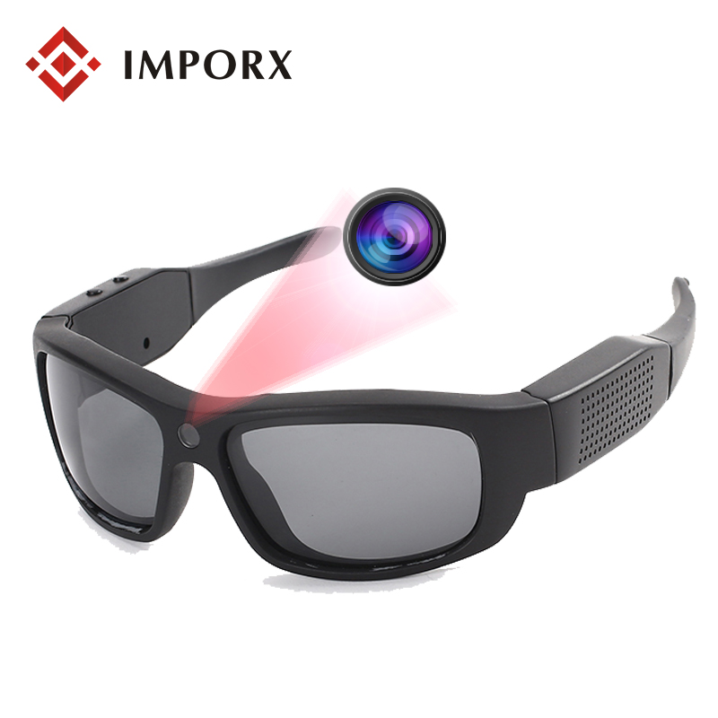 New 1080P Digital Sunglasses Glasses Mini Camera Camcorder DV Car Driving Outdoor Sport Video Recorder Polarized Smart Glasses
